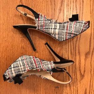 Kate Spade Tweed Pumps